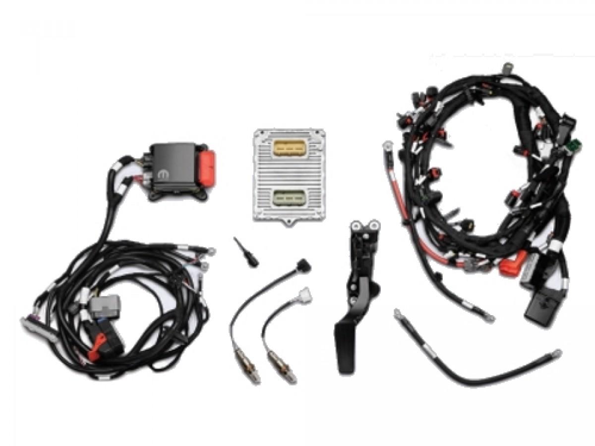 Genuine Mopar Ram Performance 345 Crate HEMI Engine Wiring