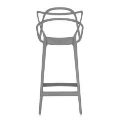 Bar Stool Chair Grey Dark Brown Plastic Adirondack Chairs Buy The Kartell Masters At Nest Co Uk