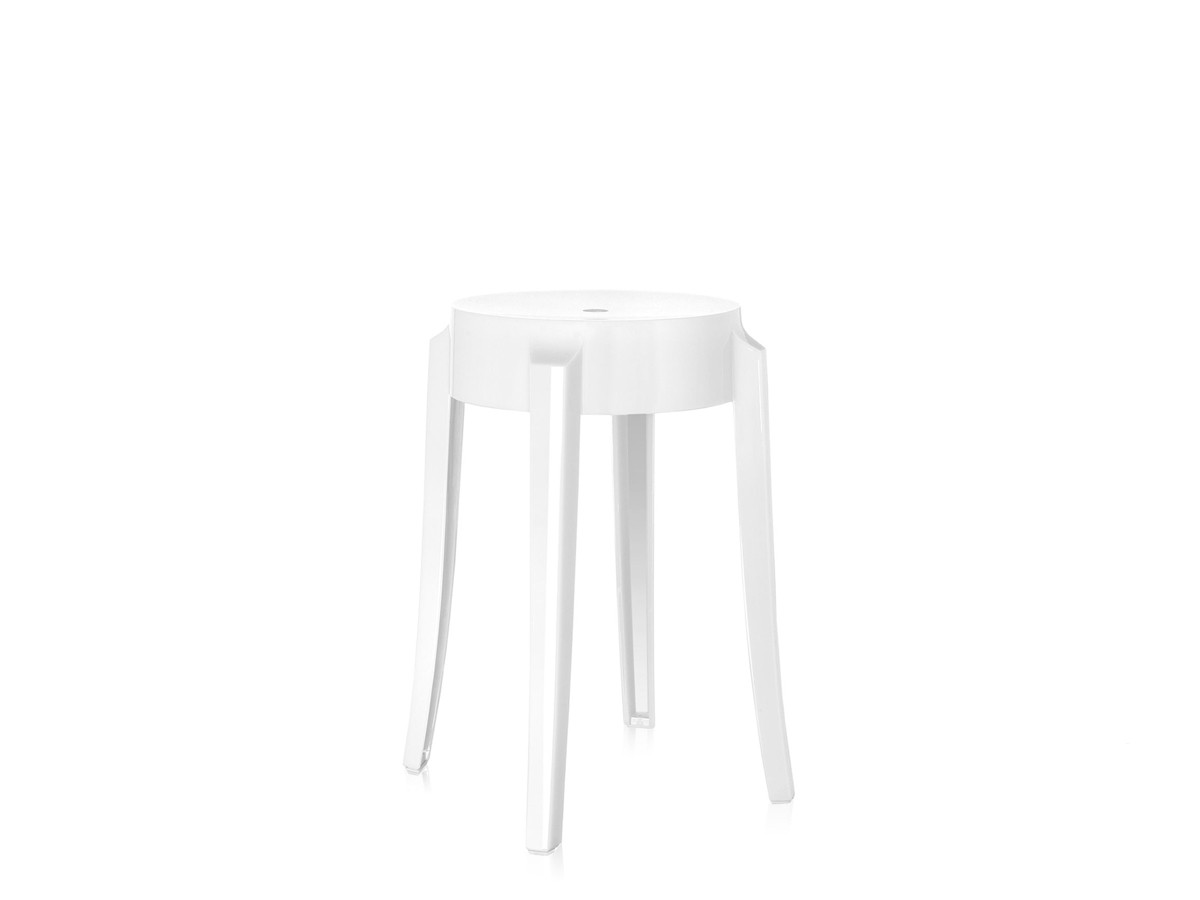ghost chair bar stool covers for ikea chairs buy the kartell charles white at nest co uk