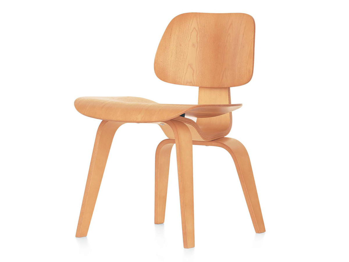 Vitra Dcw Eames Plywood Chair With Sedia Eames