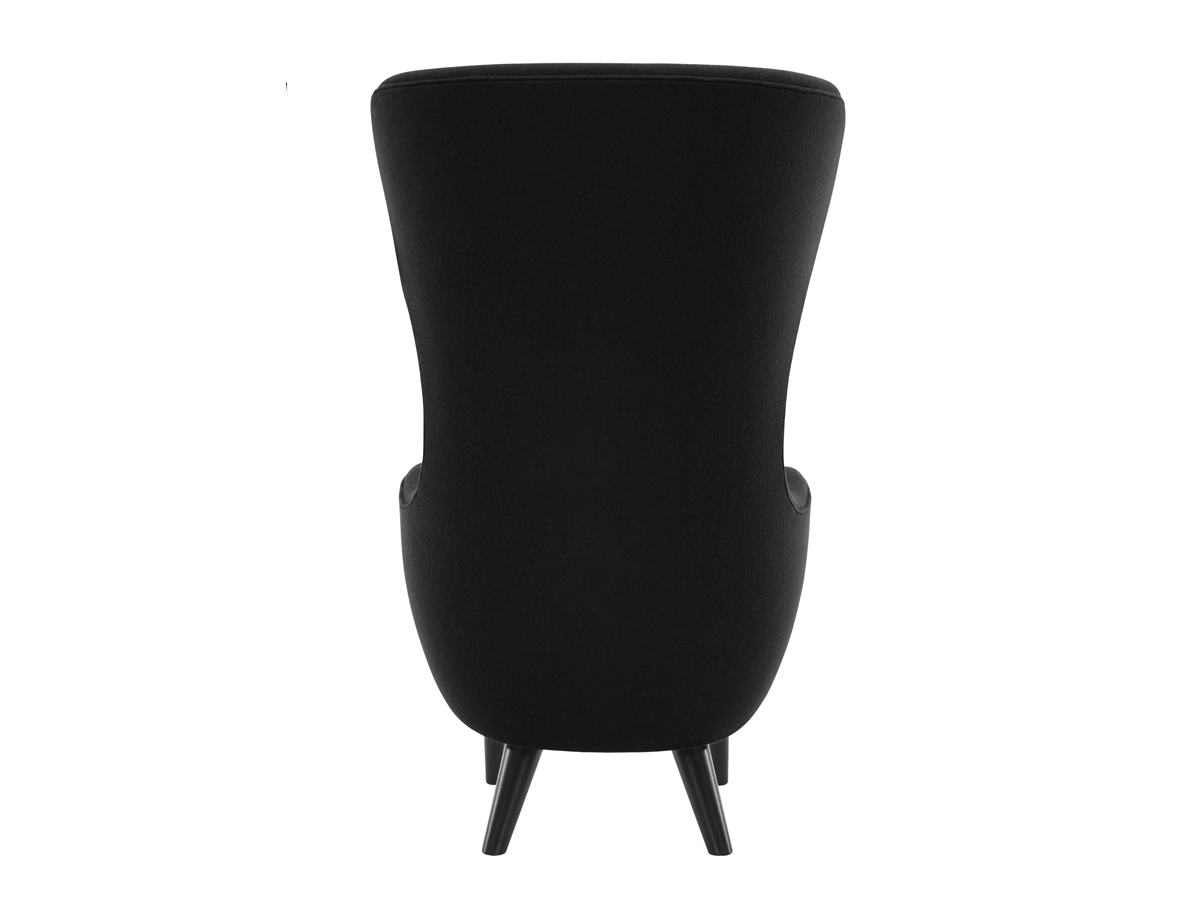 tom dixon wingback chair covers garden buy the black at nest co uk