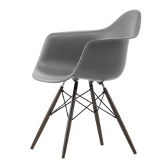 Eames Arm Chair Kids Anywhere Buy The Vitra Daw Plastic Armchair Dark Maple Base At Nest Co Uk