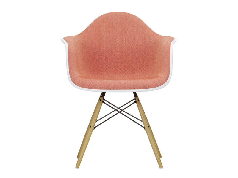 eames bucket chair pictures of covers and sashes buy the vitra daw plastic armchair upholstered at nest co uk