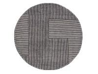 Buy the Tom Dixon Stripe Rug Round at Nest.co.uk