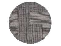 Buy the Tom Dixon Stripe Rug Round at Nest.co.uk