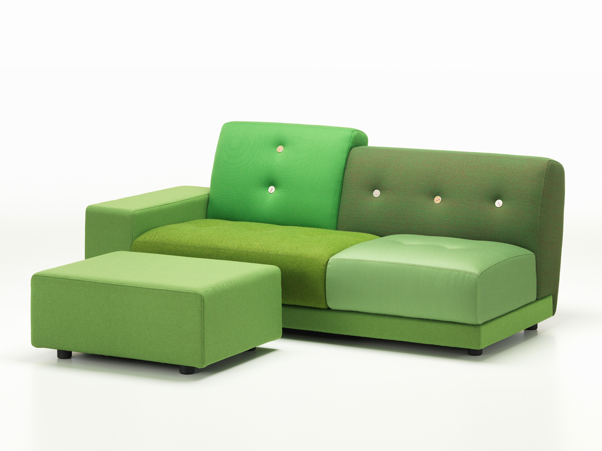 organic sofa uk stretch covers buy the vitra polder green at nest co