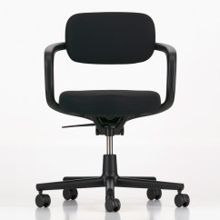 Swivel Chair Black Oversized Leather Club Buy The Vitra Allstar Office Deep At