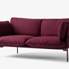 Cloud 9 Sofa Black Corner Next Day Delivery Buy The Andtradition Two Seater Ln2 At Nest Co Uk