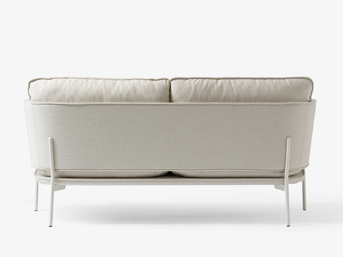 cloud 9 sofa small black corner buy the andtradition two seater ln2 at nest co uk