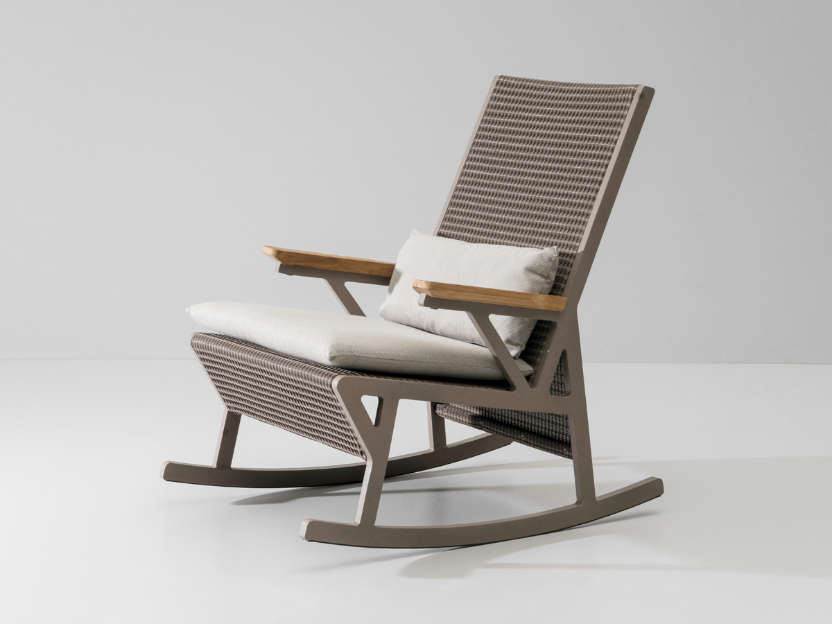 buy rocking chair small folding camping the kettal vieques at nest co uk