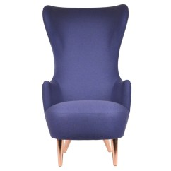 Wingback Chair Uk Best Lift Buy The Tom Dixon With Copper Legs At Nest Co