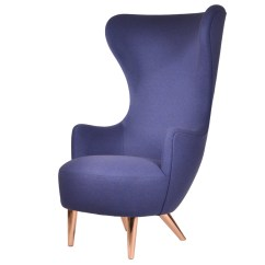 Tom Dixon Wingback Chair Ikea Cushion Buy The With Copper Legs At Nest