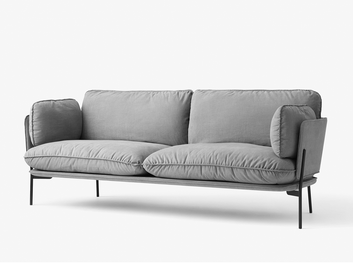 cloud 9 sofa how to clean a white cloth buy the andtradition three seater ln3 2 at nest co uk