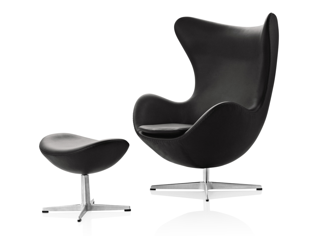 Egg Chair Buy Buy The Fritz Hansen Egg Lounge Chair Leather At Nest Co Uk