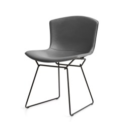 Bertoia Side Chair Wrought Iron And Glass Dining Table Chairs Buy The Knoll Studio In Cowhide