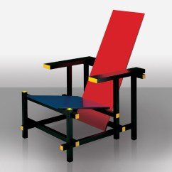 Gerrit Thomas Rietveld Chair Hanging Aldi Buy The Cassina 635 Red And Blue At Nest Co Uk