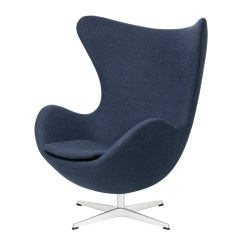 Blue Egg Chair Black High Back Cushions Buy The Fritz Hansen Fabric At Nest Co Uk