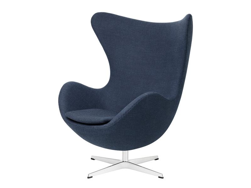 Buy the Fritz Hansen Egg Chair  Fabric at Nestcouk