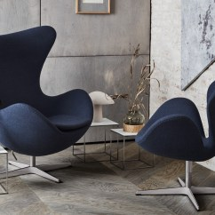 Blue Egg Chair Covers Wedding Bristol Buy The Fritz Hansen Fabric At Nest Co Uk
