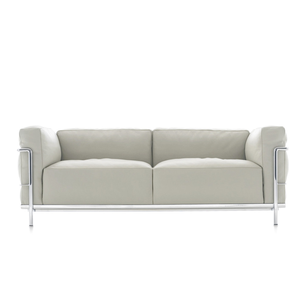 lc3 sofa right hand facing sectional buy the cassina two seater at nest co uk