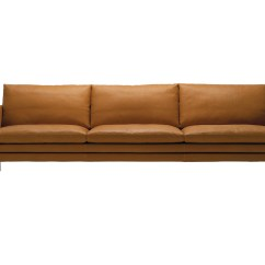 3 Seater Sofa Standard Length Telluride Brompton Leather Buy The Zanotta 1330 William Three At Nest Co Uk