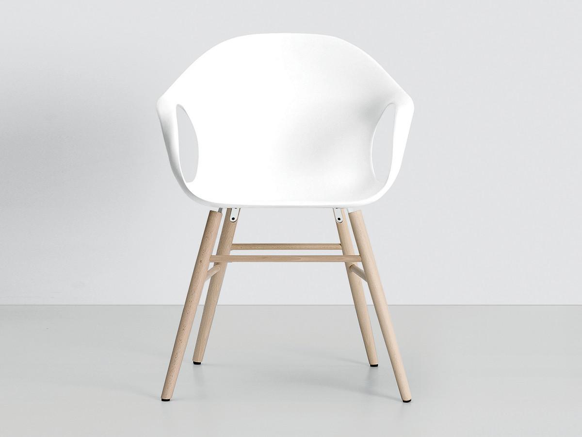 Buy the Kristalia Elephant Chair on Wooden Base at Nestcouk