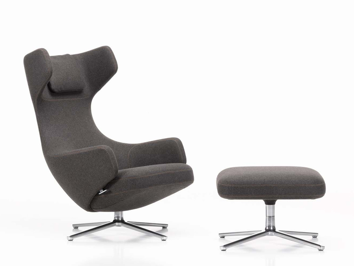 Buy the Vitra Grand Repos Lounge Chair at Nestcouk