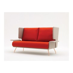 Knoll Sofas Uk Sectional In Dallas Tx Buy The Studio A Anda Two Seat Sofa With High