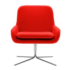 Swivel Chair Keeps Turning Office Leather Buy The Softline Coco At Nest Co Uk