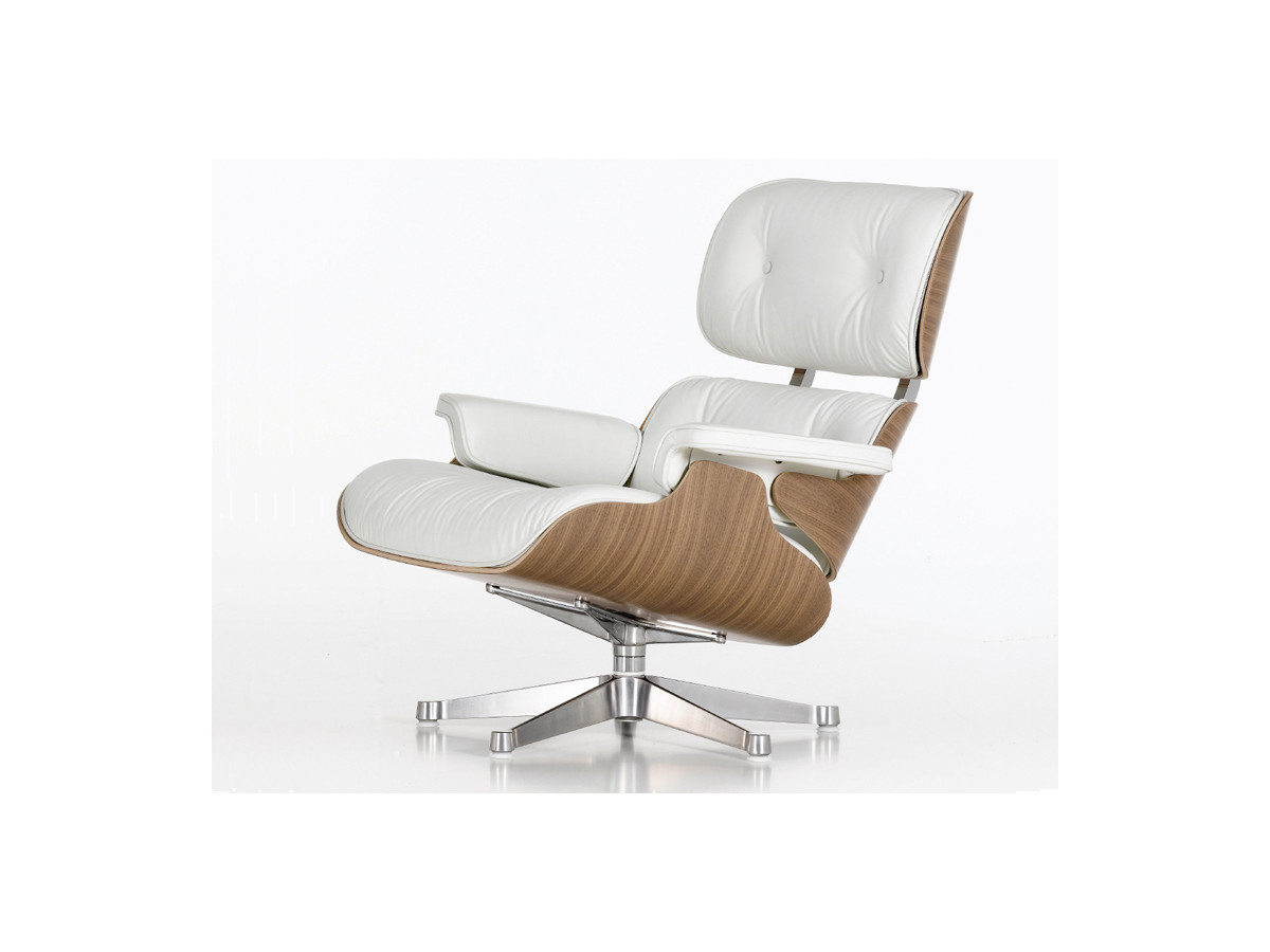 vitra lounge chair standing desk chairs buy the eames and ottoman white at nest