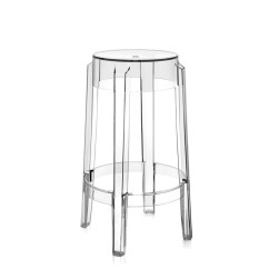 Ghost Chair Bar Stool Dining Chairs Nailhead Trim Buy The Kartell Charles Crystal At Nest Co Uk