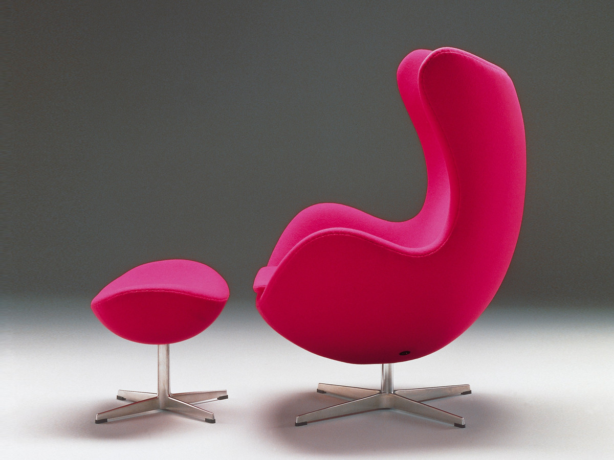Egg Chair Buy Buy The Fritz Hansen Egg Lounge Chair Fabric At Nest Co Uk