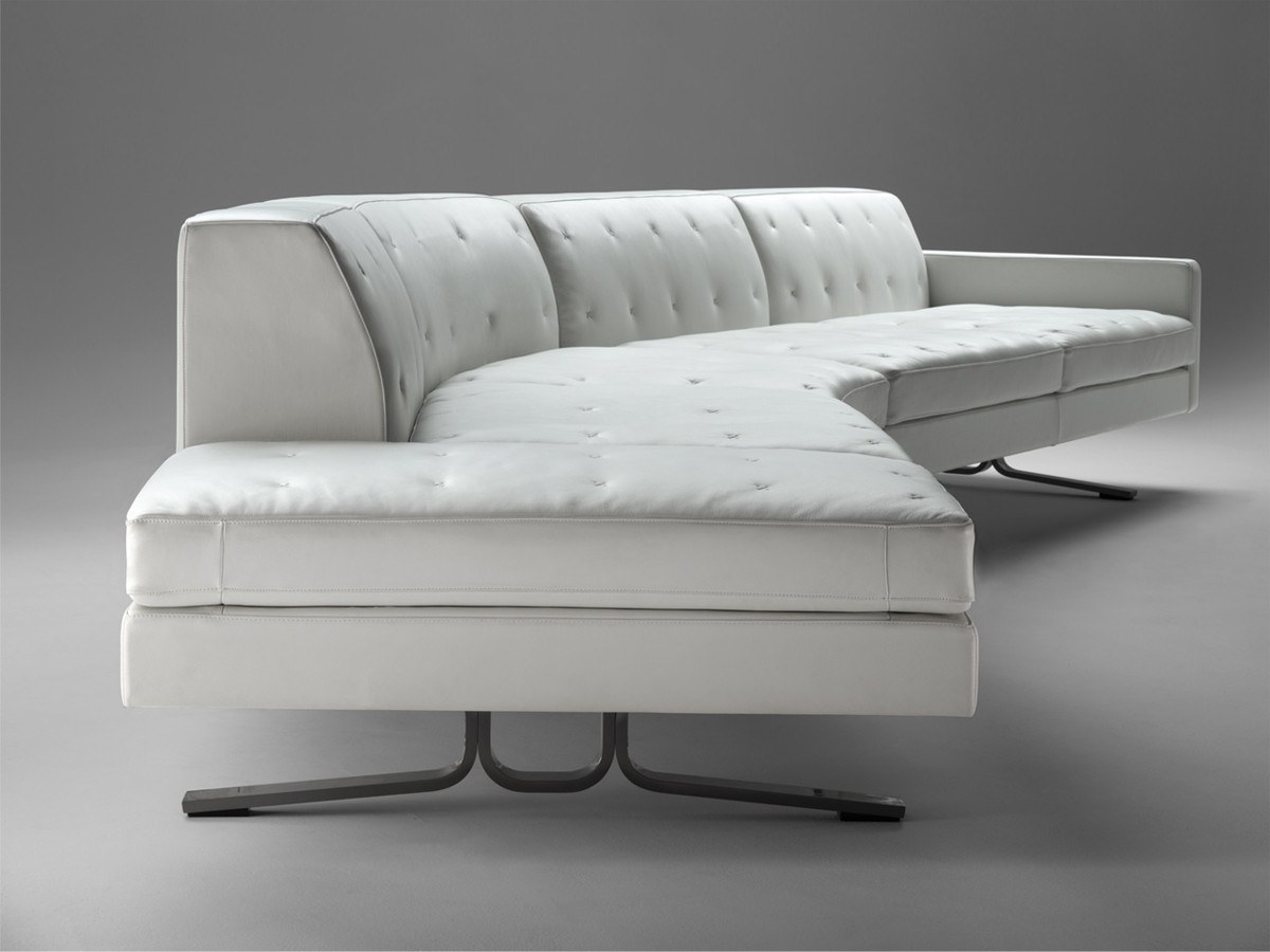 Buy the Poltrona Frau Kennedee Curved Sofa at Nestcouk