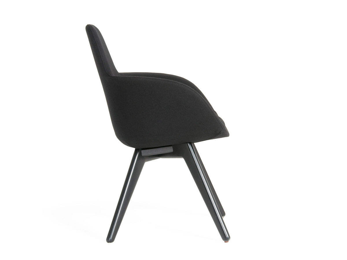 scoop back upholstered dining chairs cute for teenage bedrooms buy the tom dixon high chair at nest co uk