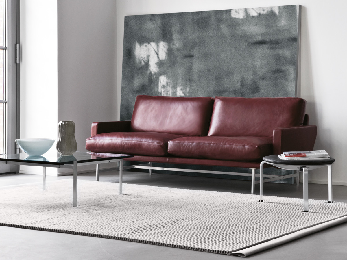 Buy The Fritz Hansen Lissoni Two Seater Sofa At Nest.co.uk