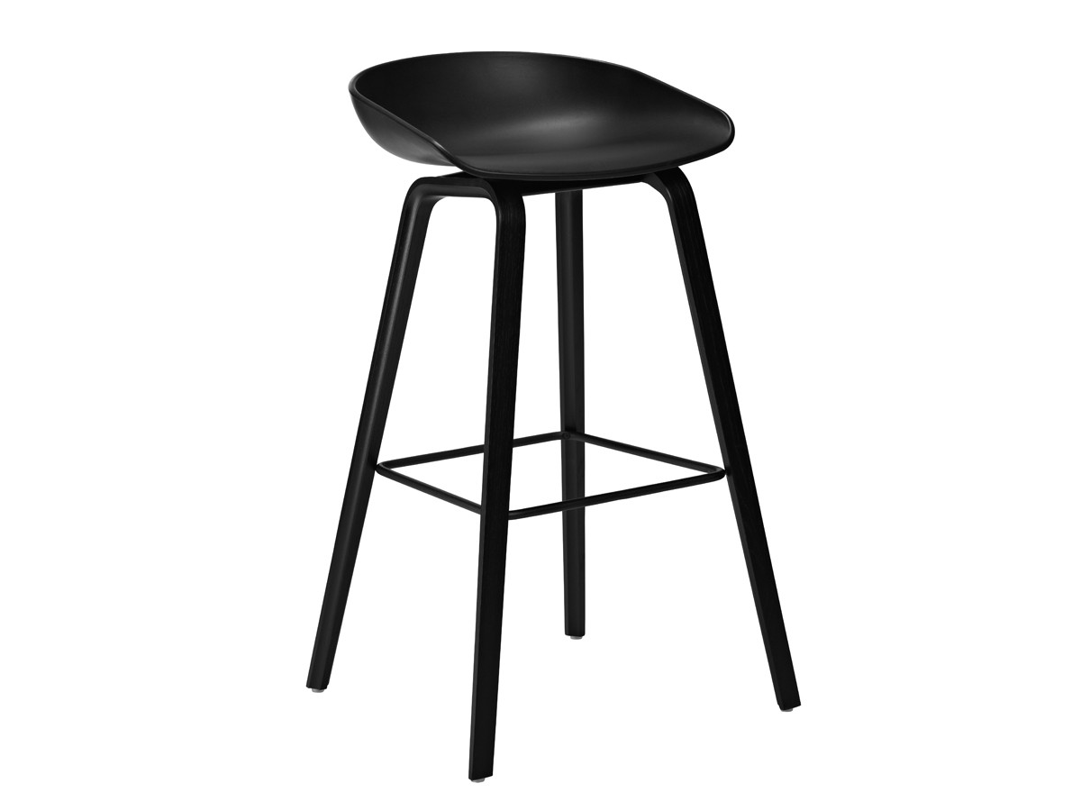 chair stool black fujiiryoki massage price buy the hay about a aas32 wooden base at nest co uk