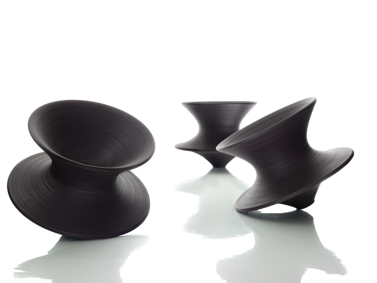 revolving chair with net vinyl covers for recliners buy the magis spun rotating at nest co uk