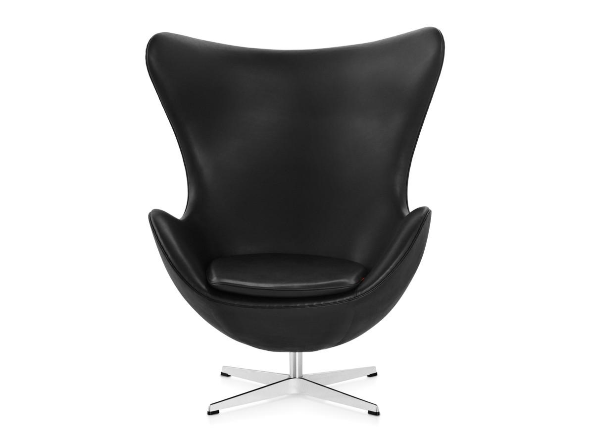 Buy the Fritz Hansen Egg Lounge Chair  Leather at Nestcouk