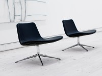 Buy the Hay Ray Lounge Chair - Swivel Base at Nest.co.uk
