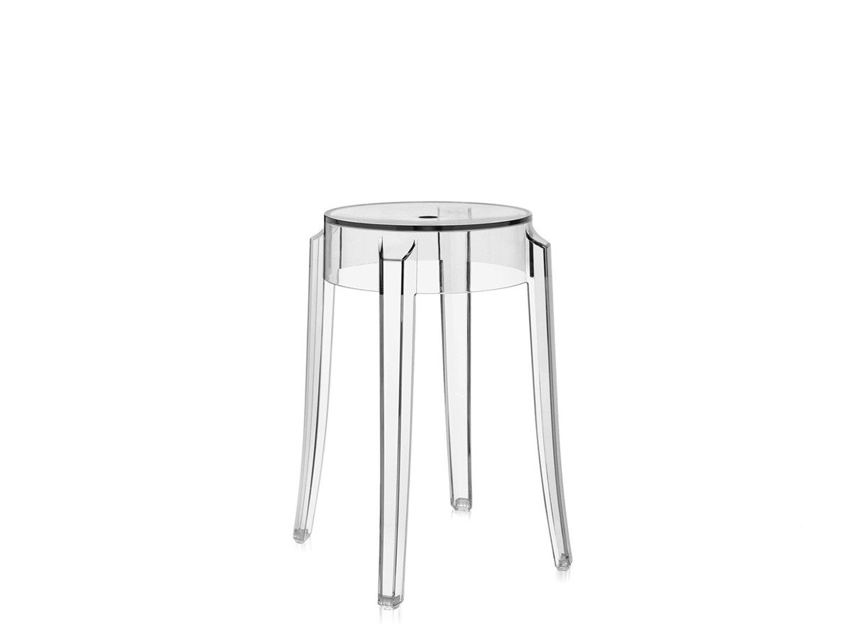 ghost chair bar stool table with storage buy the kartell charles crystal at nest co uk