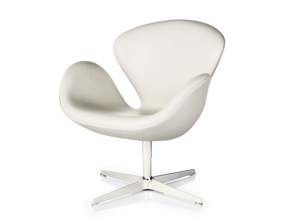White Leather Egg Chair Buy The Fritz Hansen Swan Lounge Chair Leather At Nest Co Uk