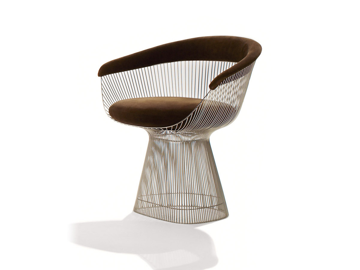 Buy the Knoll Studio Knoll Platner Side Chair at Nestcouk
