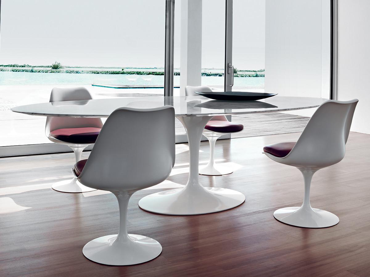 Buy the Knoll Studio Knoll Tulip Chair at Nestcouk