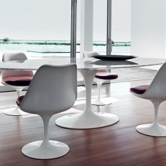 Tulip Dining Room Chairs Home Theatre Buy The Knoll Saarinen Large Table Oval At