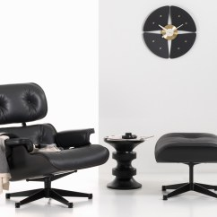Black Eames Chair Best Recliner Buy The Vitra Lounge And Ottoman All At