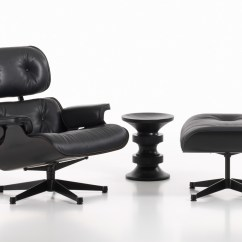 Eames Lounge Chair Used Small Office Chairs Without Arms Buy The Vitra And Ottoman All Black At