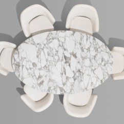 Chair Design Top View Computer Cover Buy The Knoll Saarinen Tulip Large Dining Table Oval At