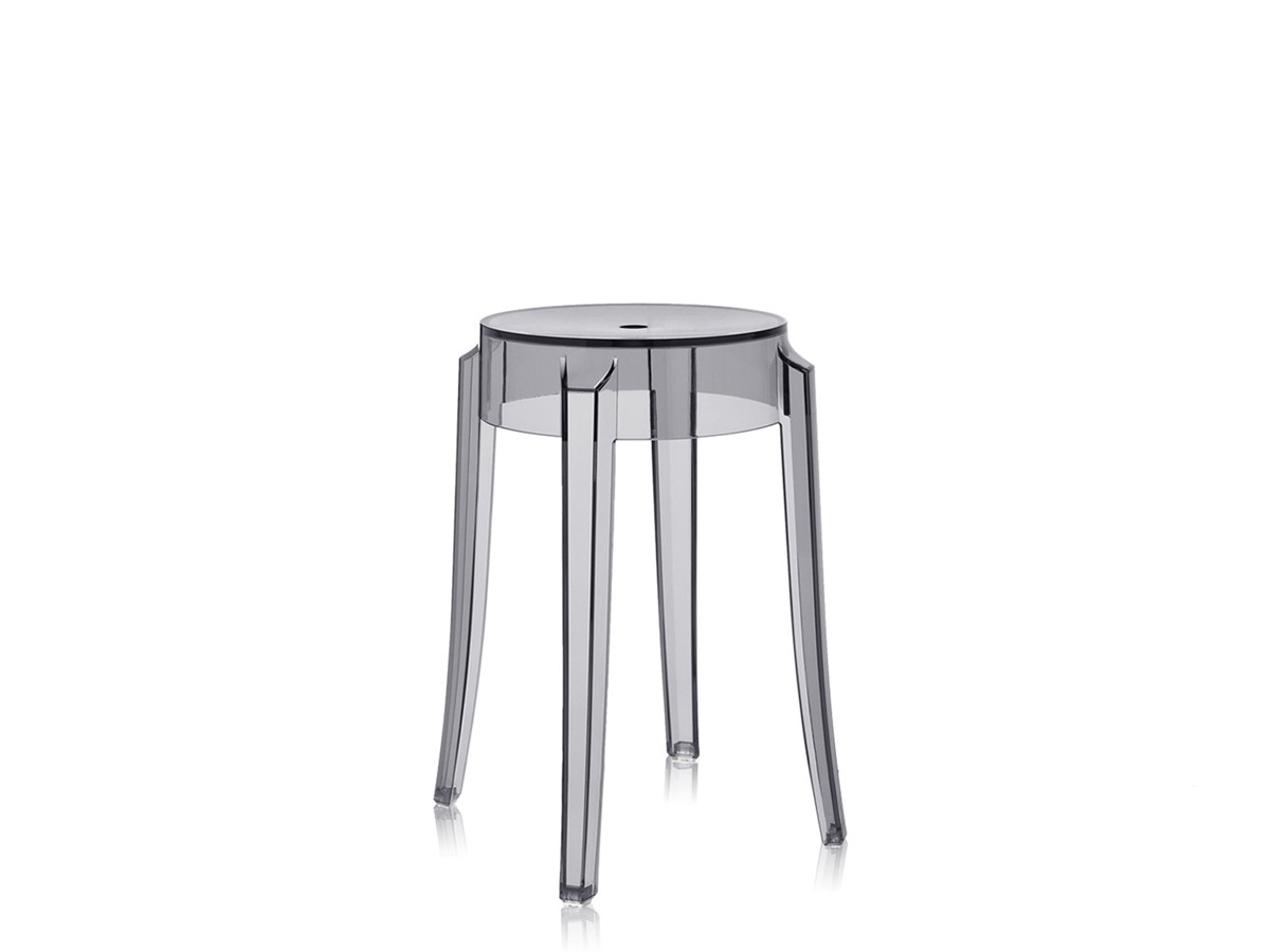 ghost chair bar stool spandex covers vs polyester buy the kartell charles smoke at nest co uk