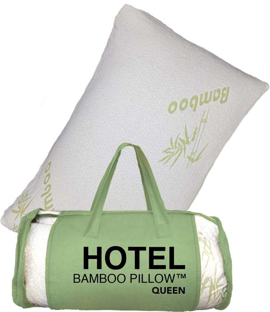 Wholesale Hotel Bamboo Memory Foam Pillow SKU 1868910