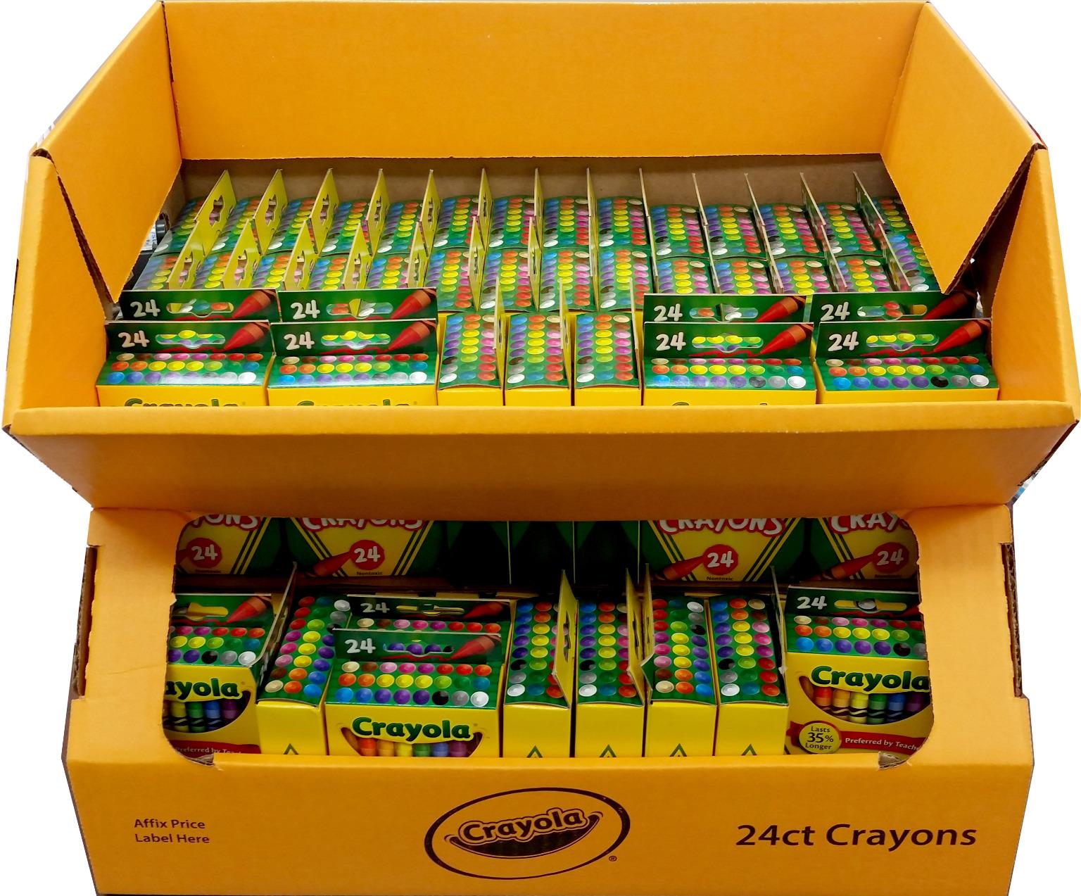 Wholesale 24 Count Crayola Crayons Sku Dollardays